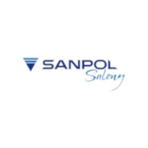 Umywalki nablatowe ceramiczne - Sanpol